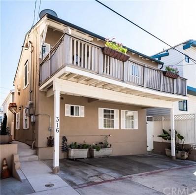 316 29th Court, Hermosa Beach, CA 90254 - MLS#: SB18269229