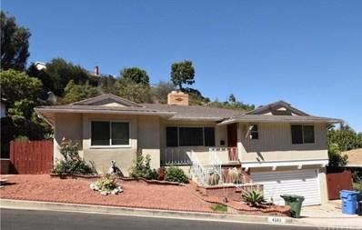 4253 Hillcrest Drive, Baldwin Hills, CA 90008 - MLS#: SB18271620