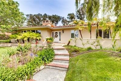1416 Granvia Altamira, Palos Verdes Estates, CA 90274 - MLS#: SB18279498