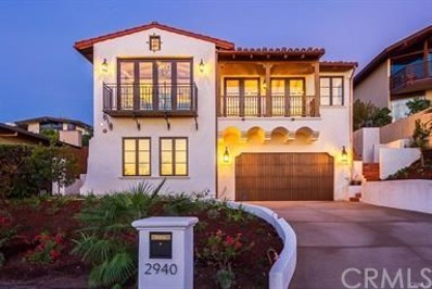 2940 Via Alvarado, Palos Verdes Estates, CA 90274 - MLS#: SB18285469