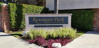 12200 Montecito Road UNIT H205, Seal Beach, CA 90740 - MLS#: SB18288495