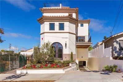 526 N ELENA Avenue UNIT C, Redondo Beach, CA 90277 - MLS#: SB18289529