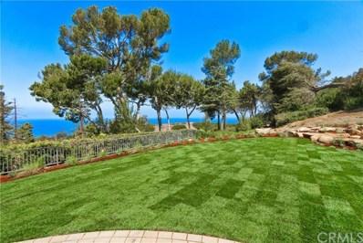 1606 Espinosa Circle, Palos Verdes Estates, CA 90274 - MLS#: SB19000350