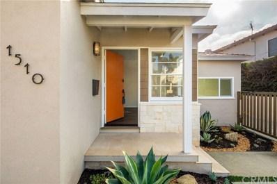 1510 Voorhees Avenue, Manhattan Beach, CA 90266 - MLS#: SB19006422
