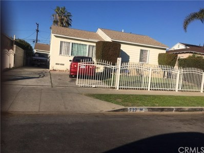 727 W 140th Street, Gardena, CA 90247 - MLS#: SB19008370