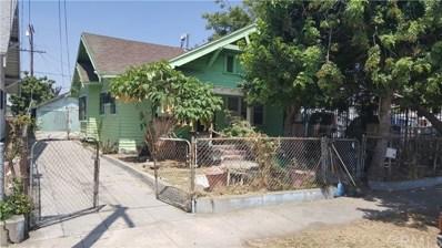 5883 Wall Street, Los Angeles, CA 90003 - MLS#: SB19008610