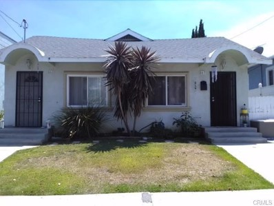 861 W 4th Street, San Pedro, CA 90731 - MLS#: SB19010770