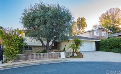2140 W Toscanini Drive, Rancho Palos Verdes, CA 90275 - MLS#: SB19016432