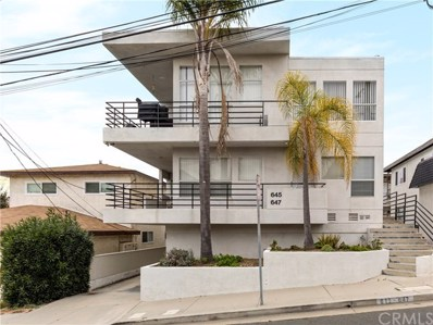 647 1st Place, Hermosa Beach, CA 90254 - MLS#: SB19033605