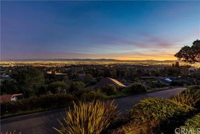 14 Deerhill Drive, Rolling Hills Estates, CA 90274 - MLS#: SB19036930