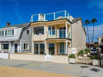 506 W Oceanfront, Newport Beach, CA 92661 - MLS#: SB19045129