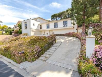 1716 Via Boronada, Palos Verdes Estates, CA 90274 - #: SB19060046
