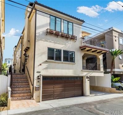 420 23rd Pl, Manhattan Beach, CA 90266 - MLS#: SB19084519