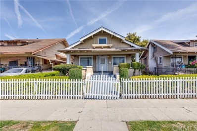1625 W 55th Street, Los Angeles, CA 90062 - MLS#: SB19087667