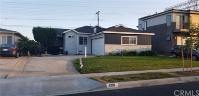 4330 W 177th Street, Torrance, CA 90504 - MLS#: SB19101109