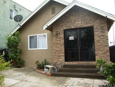 258 E 43rd Street, Los Angeles, CA 90011 - MLS#: SB19123713