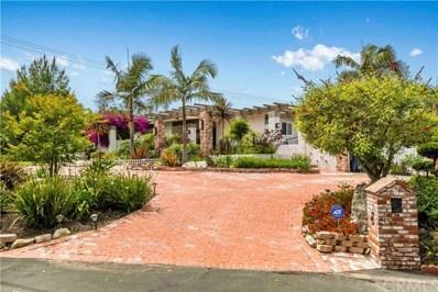 9 Rockinghorse Road, Rancho Palos Verdes, CA 90275 - MLS#: SB19137040