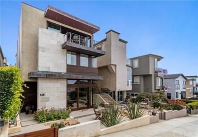 328 19th Street, Manhattan Beach, CA 90266 - MLS#: SB19189348