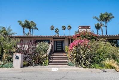 2114 Via Visalia, Palos Verdes Estates, CA 90274 - #: SB19195175