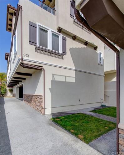 931 1st Street UNIT B, Hermosa Beach, CA 90254 - MLS#: SB19229555
