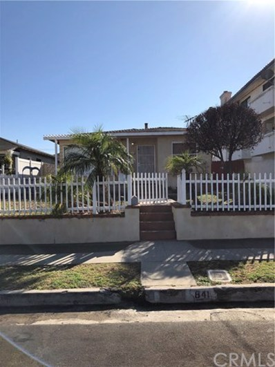841 W 24th Street, San Pedro, CA 90731 - MLS#: SB19266454