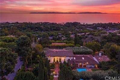 100 VanDerlip Drive, Rancho Palos Verdes, CA 90275 - MLS#: SB20000819
