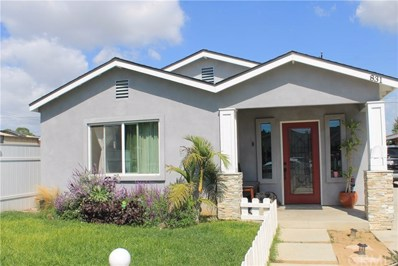 831 E Realty Street, Carson, CA 90745 - MLS#: SB20001468