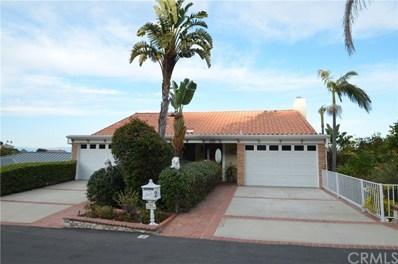 2 Via Subida, Rancho Palos Verdes, CA 90275 - MLS#: SB20012067