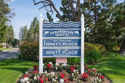 1418 Brett Place UNIT 319, San Pedro, CA 90732 - MLS#: SB20052278