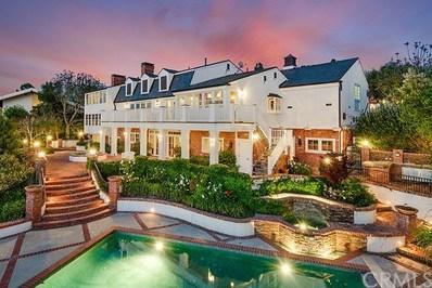 1409 Via Arco, Palos Verdes Estates, CA 90274 - MLS#: SB20099123