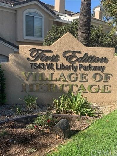 7543 W liberty Parkway UNIT 651, Fontana, CA 92336 - MLS#: SB20198723