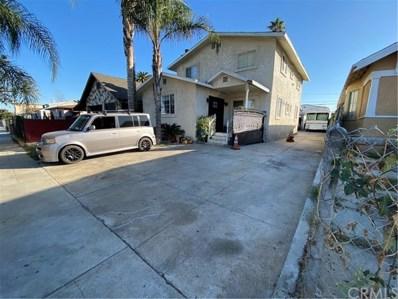1320 W 87th Street, Los Angeles, CA 90044 - MLS#: SB21087912