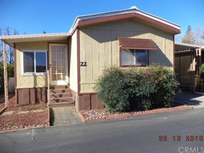 1595 Manzanita Avenue UNIT 22, Chico, CA 95926 - MLS#: SN18048197