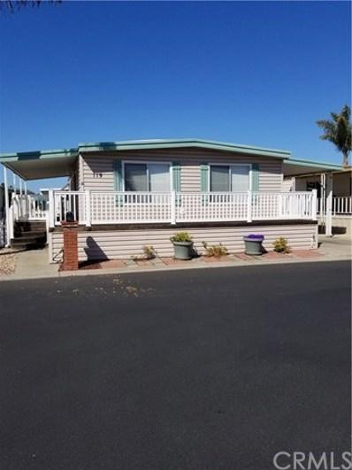 140 S Dolliver UNIT 119, Pismo Beach, CA 93449 - MLS#: SP18133193