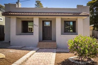 862 Toro Street, San Luis Obispo, CA 93401 - MLS#: SP18140224