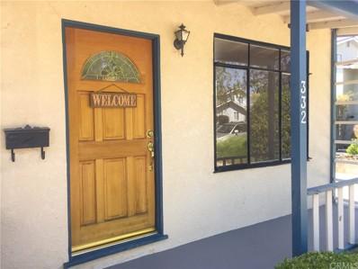 332 Patricia Drive, San Luis Obispo, CA 93405 - MLS#: SP18201910