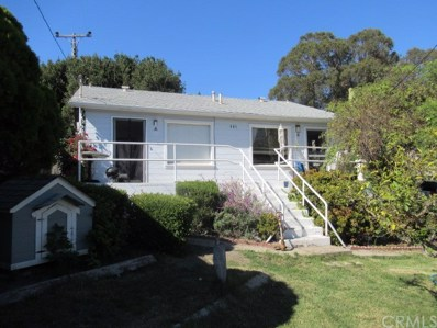 481 Ocean View Avenue, Pismo Beach, CA 93449 - MLS#: SP18254321