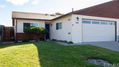 505 Bakeman Lane, Arroyo Grande, CA 93420 - MLS#: SP19035868