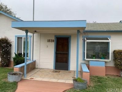 1539 Fountain Avenue, Oceano, CA 93445 - MLS#: SP19106056