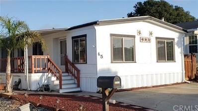 765 Mesa View Drive UNIT 45, Arroyo Grande, CA 93420 - MLS#: SP19140302