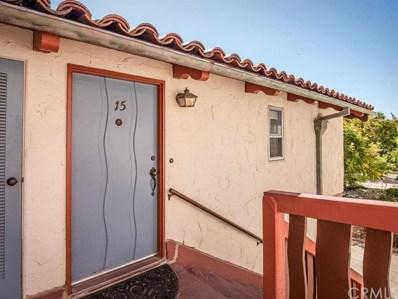 1415 Morro Street UNIT 15, San Luis Obispo, CA 93401 - MLS#: SP19179682