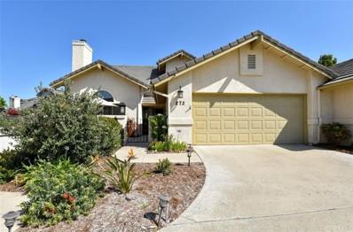 272 Tempus Circle, Arroyo Grande, CA 93420 - MLS#: SP20078104