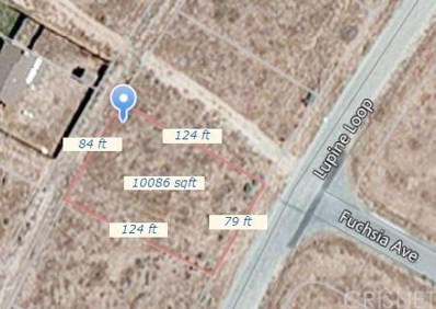 0 Lupine Loop Drive, California City, CA 93505 - MLS#: SR16129555