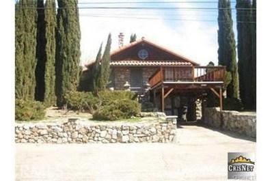 3417 Los Padres Drive, Frazier Park, CA 93225 - MLS#: SR17010628