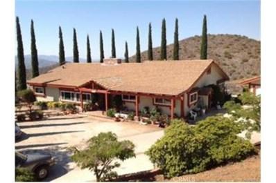 9333 Escondido Canyon Road, Agua Dulce, CA 91390 - MLS#: SR17090952