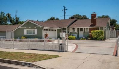 21014 Cantara Street, Canoga Park, CA 91304 - MLS#: SR17141124