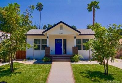 1102 N El Molino Avenue, Pasadena, CA 91104 - MLS#: SR17171887