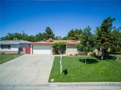 45059 16th Street W, Lancaster, CA 93534 - MLS#: SR17188126