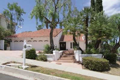 4041 Alonzo Avenue, Encino, CA 91316 - MLS#: SR17195506