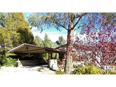 2808 Kodiak Way, Pine Mtn Club, CA 93222 - MLS#: SR17198237